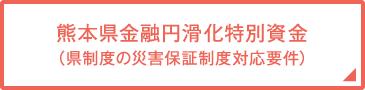 熊本県金融円滑化特別資金(県制度の災害保証制度対応要件)