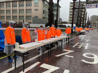 熊本城マラソンボランティア
